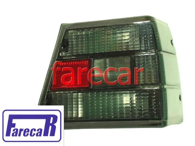 Lanterna traseira fume Gm Caravan 1980 1981 1982 1983 1984 1985 1986 1987 1988 1989 1990 1991 1992 1993  - Farecar Comercio