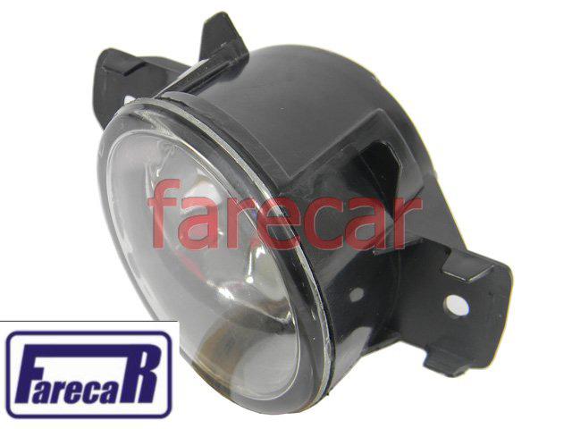 Farol auxiliar de milha neblina do parachoque Renault Clio 2003 2004 2005 2006 2007 2008 2009 2010 2011  - Farecar Comercio