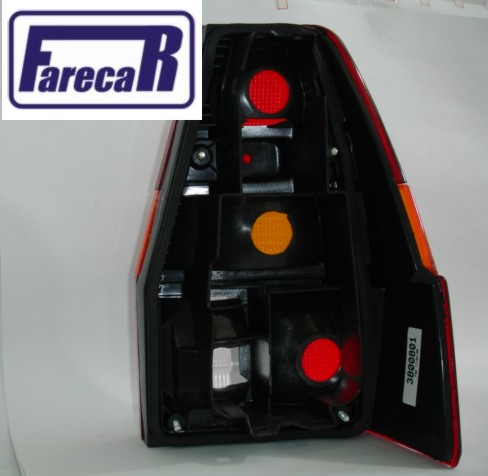 LANTERNA TRASEIRA QUANTUM 1985 A 1990 TRICOLOR NOVA  - Farecar Comercio