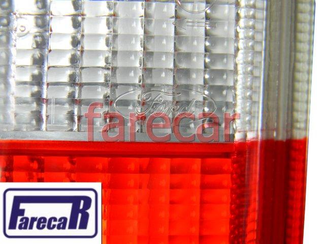 LANTERNA TRASEIRA ESQUERDA ORIGINAL FORD COURIER NOVA  - Farecar Comercio