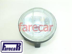 PAR FAROL MILHA MINI PREMIUM LISO CARCAÇA PLASTICA RC386  - Farecar Comercio