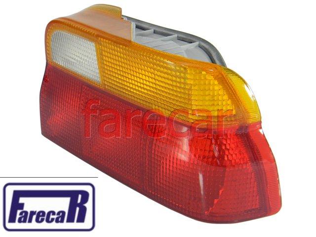 Lanterna Traseira Escort E Verona 93 A 96 Tricolor Nova  - Farecar Comercio