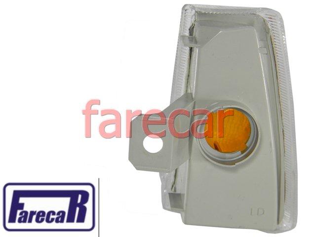 Lanterna Dianteira Seta Pisca Kadett Ipanema Cristal Branco  - Farecar Comercio