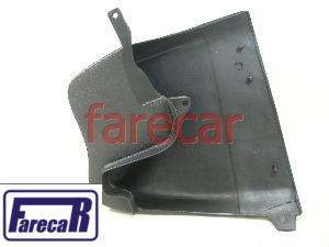 Ponteira Polaina Do Parachoque S10 Preta Nova  - Farecar Comercio