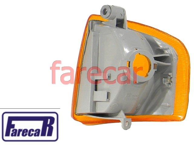 Lanterna Dianteira Pisca Seta Escort Apollo Verona Ambar  - Farecar Comercio