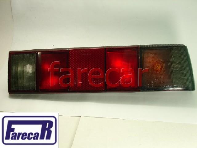 Lanterna Traseira Santana 1984 A 1990 Fume  - Farecar Comercio