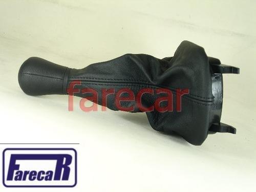 Coifa Com Bola Manopla Cambio Audi A3 Em Couro Original  - Farecar Comercio