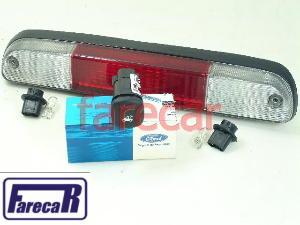 Kit Brake Light Lanterna Freio Courier + Soquete + Botão  - Farecar Comercio
