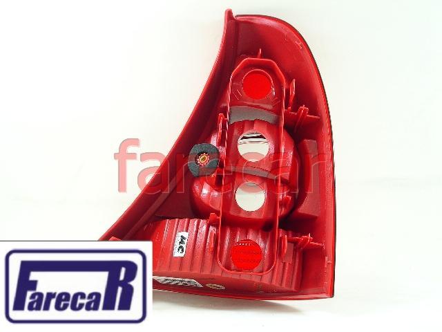 Lanterna Renault Clio Hatch 2003 2004 2005 2006 2007 2008 2009 2010 2011  - Farecar Comercio