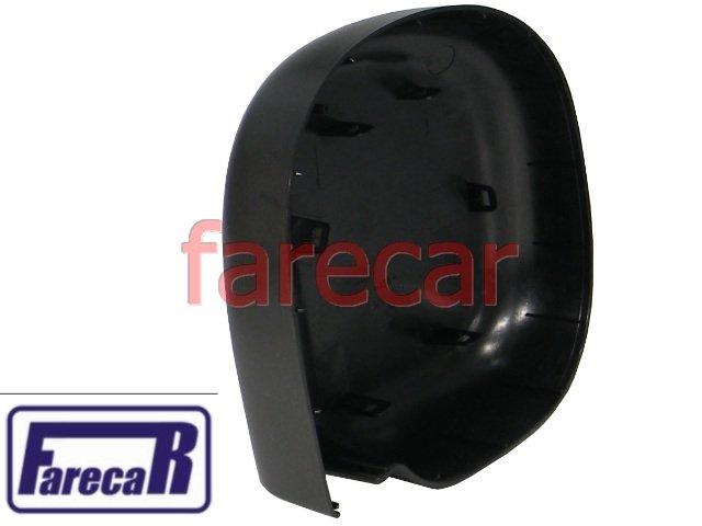 Capa Preta do Espelho Retrovisor  Ford F250 F-250  - Farecar Comercio