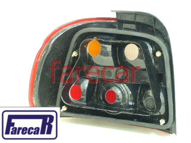 Lanterna Traseira Do Logus Todos Tricolor Nova Sem Uso  - Farecar Comercio