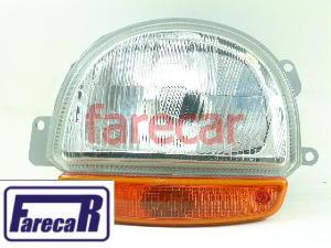 Farol Renault Twingo 95 A 98 Original Carello Esquerdo  - Farecar Comercio