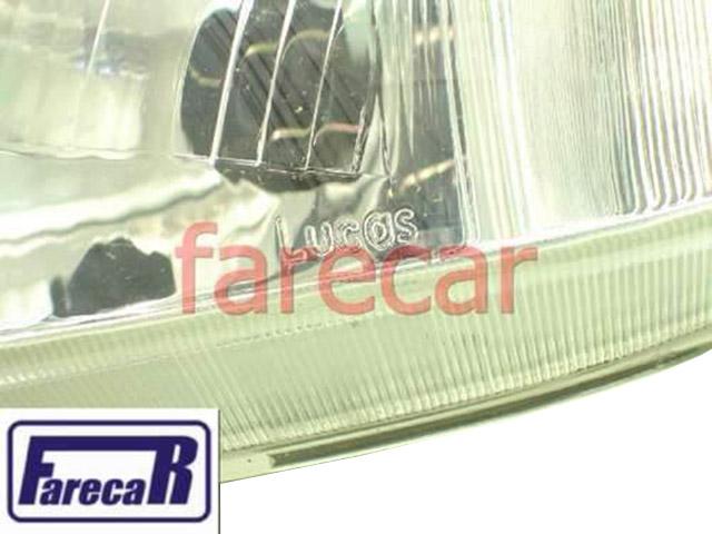 Farol Corsa 1994 A 1999 Original Marca Lucas Esquerdo  - Farecar Comercio