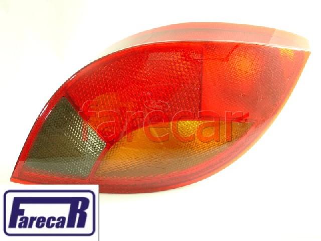 Lanterna Traseira Ford Ka 97 A 2001 Fume Nova Original  - Farecar Comercio