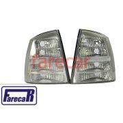 Par de lanterna traseira toda Cristal marca Arteb GM Astra Sedan 2003 2004 2005 2006 2007 2008 2009 2010 2011 2012