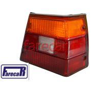 Lanterna traseira Tricolor GM Caravan 1980 1981 1982 1983 1984 1985 1986 1987 1988 1989 1990 1991 1992 1993