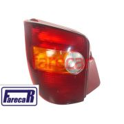 LANTERNA TRASEIRA TRICOLOR FIAT PALIO HATCH 1996 A 2000 YOUNG 2000 A 2002 96 97 98 99 00 01 02 1997 1998 1999 2001
