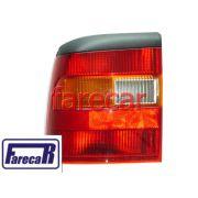lanterna traseira tricolor marca Depo GM Vectra 1994 1995 1996