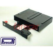 Porta Fita Cassete K7 Painel Console Gol Gts Gti Kadett Gsi