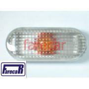 Lanterna Lateral Pisca Seta Polo 96 A 99 Cristal