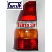 Lanterna Escort Sw Perua Wagon Nova Na Caixa Acrilica