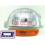 Farol Renault Twingo 95 A 98 Original Carello Esquerdo