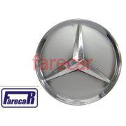 Calota Miolo Roda Mercedes Classe A Estrela Cromada Novas