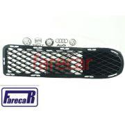 Moldura Grade Parachoque sem milha Original VW Gol Saveiro Parati G3 1999 2000 2001 2002 2003