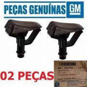02 Brucutu Esguicho Lavador Para-brisa Blazer S10 Original 15727144