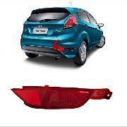 Refletivo lanterna Refletor lado direito Parachoque Ford New Fiesta Hatch Nacional 2013 2014 2015 2016 2017 2018 2019