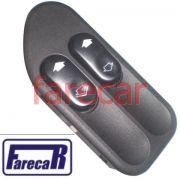 Botao Interruptor Vidro Eletrico Duplo Fiesta e Ecosport