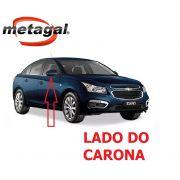Capa Pintada na cor Azul Macaw do Espelho Retrovisor lado direito GM Cruze 2012 2013 2014 2015 2016 12 13 14 15 16