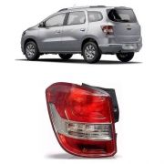Lanterna traseira borda vermelha lado esquerdo Fitam 36060E GM Spin 2012 2013 2014 2015 2016 2017 2018