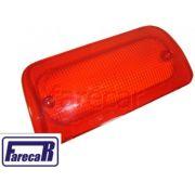 Lente Original GM ARTEB 16520296 Da Lanterna Luz Freio Teto Brake Light S10 Break Gm
