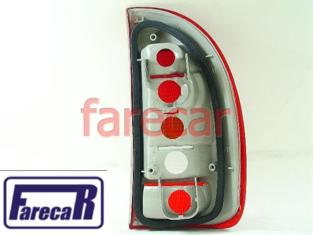 Lanterna Traseira GM Corsa Hatch 4 Portas Pick Up Corsa Wagon Perua Sw 1995 a 1999 95 96 97 98 99 1996 1997 1998  - Farecar Comercio