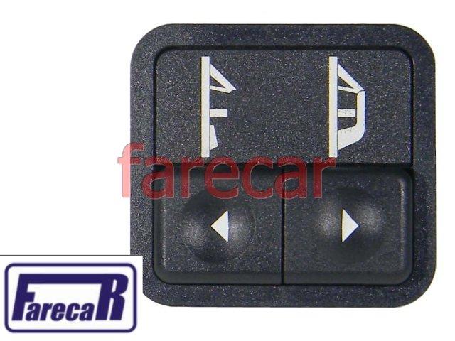 Botao Capota Eletrica Conversivel Escort Xr3 Europeu Sapão  - Farecar Comercio