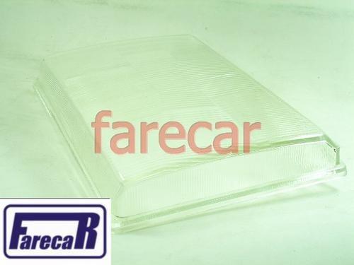Lente De Vidro Do Farol F1000 E F4000 1993 A 1995  - Farecar Comercio