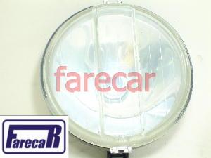 Par Farol Milha Modelo Gt Gts Liso Carcaça Aço Rc379  - Farecar Comercio