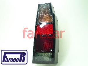 Lanterna Parati E Saveiro 1987 A 1995 Fume Com Soquete Nova  - Farecar Comercio