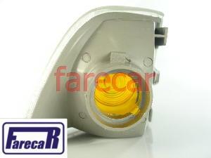 Lanterna Dianteira Pisca Seta Monza 1991 a 1996 Mod C Cristal Nova  - Farecar Comercio