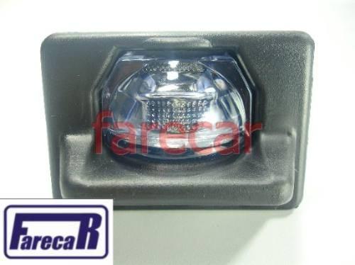 Lanterna Iluminação Placa Parachoque Uno Até 2002  - Farecar Comercio