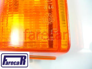 Lanterna Pisca Seta Escort 1984 A 1986 Ambar Cibie Direita  - Farecar Comercio