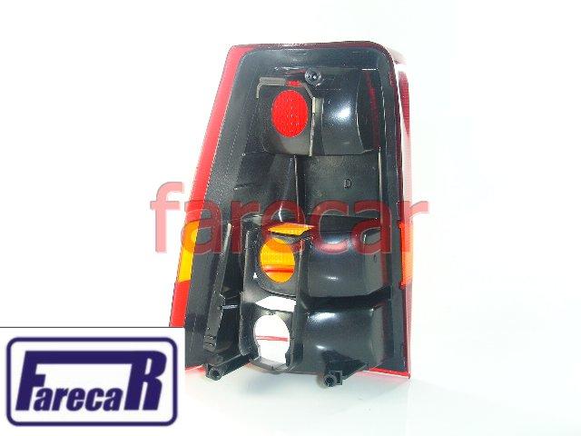 Lanterna Traseira Kadett 1989 A 1998 Tricolor Nova  - Farecar Comercio