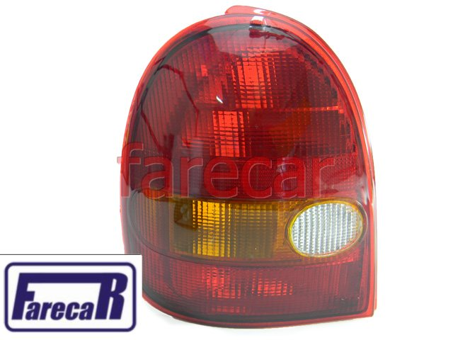 Lanterna Traseira Corsa WIND Hatch 2 Portas 1994 A 1999  94 95 96 97 98 99 1995 1996 1997 1998 ACRILICA  - Farecar Comercio
