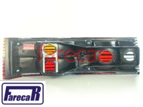 Lanterna Passat Pointer 1983 A 1989 Tricolor Frisada Nova  - Farecar Comercio