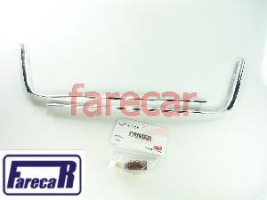 Kit Friso Cromado Grade Inferior Parachoque Gol Voyage G5 Gv  - Farecar Comercio