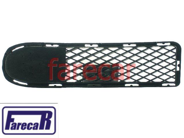 Moldura Grade Parachoque sem milha Original VW Gol Saveiro Parati G3 1999 2000 2001 2002 2003  - Farecar Comercio