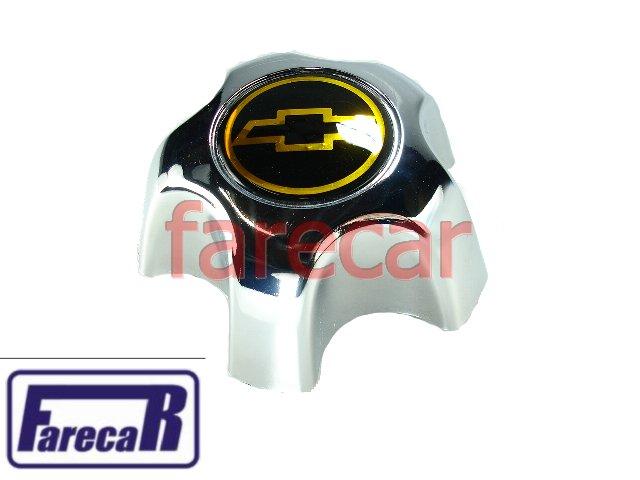 Calota Miolo Roda S10 Blazer Executive 1999 2000 Gm Dourado  - Farecar Comercio