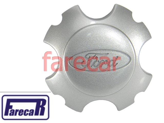 Calota Do Miolo Da Roda Liga Ecosport Cinza Claro Original  - Farecar Comercio