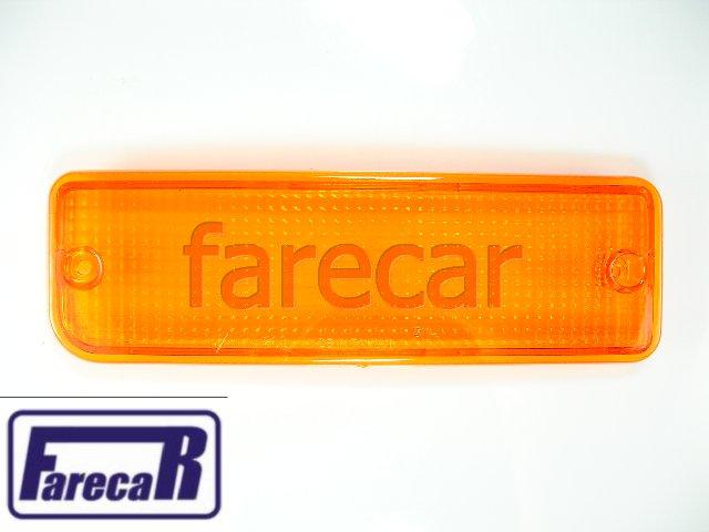 Lente Da Lanterna De Pisca Parachoque Hilux 1992 A 2001  - Farecar Comercio